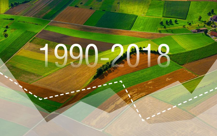 Географія, врожайність, площі: як змінилось вирощування топових культур за роки незалежності?