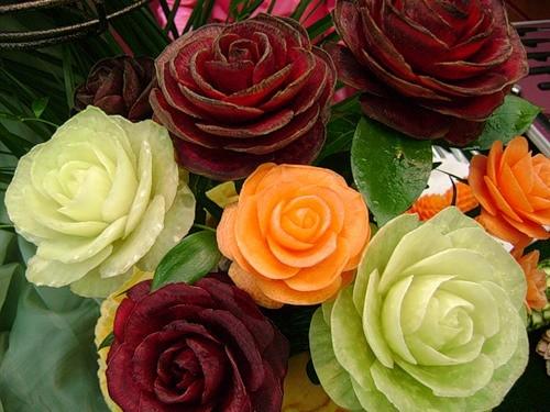 Картинки по запросу картинки букети овочів і квітів