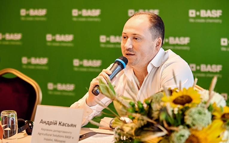 Андрій Касьян: BASF розглядає можливості створення власного виробництва пестицидів в Україні